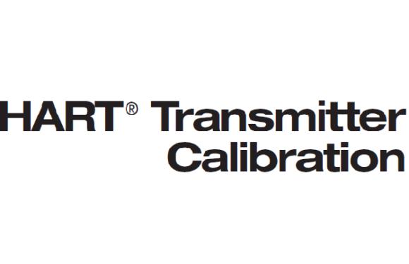 HART transmitter calibration procedure – For pressure transmitter