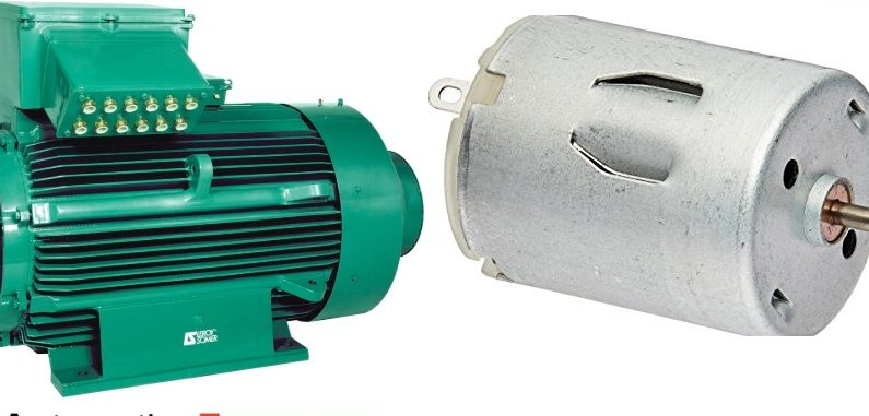 Difference between AC and DC Motors